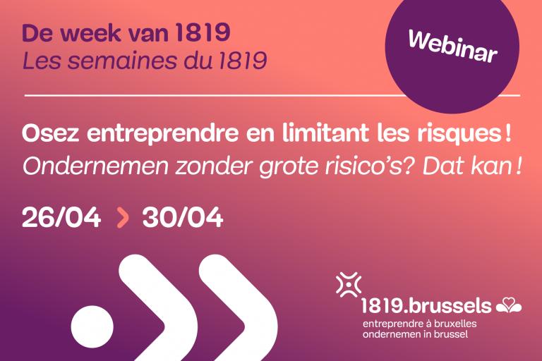 Actu Bruxelles-J - 1819 - Semaine-osez-entreprendre