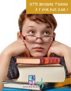 Brochure SDJ Obligation scolaire fréquentation, absences et décrochage